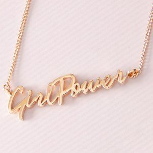 🎁 Girl Power Signature Necklace